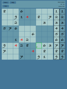 Sudoku App Screenshot