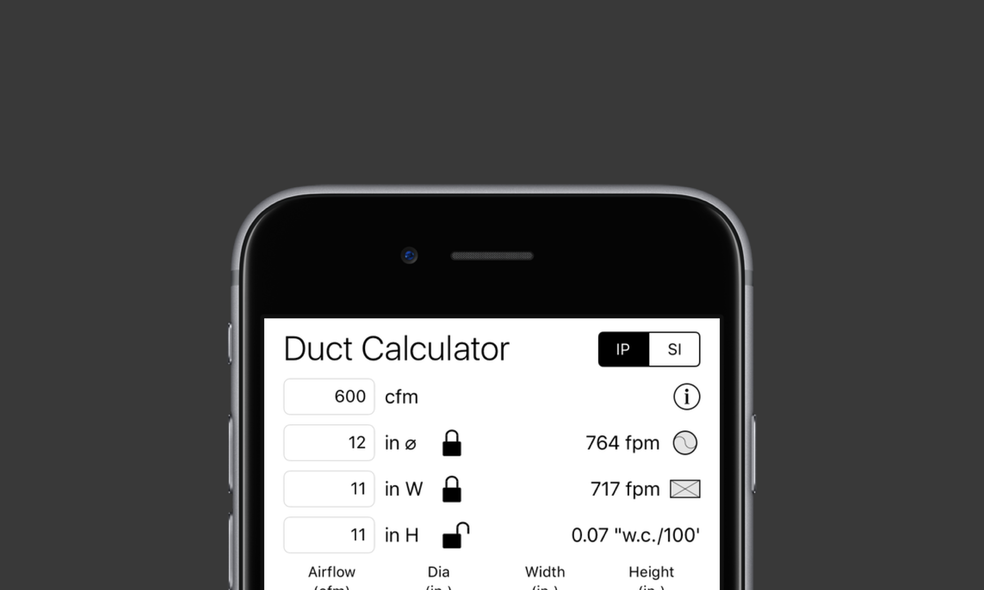 Hvac Design Software For Iphone And Ipad Pheinex Llc